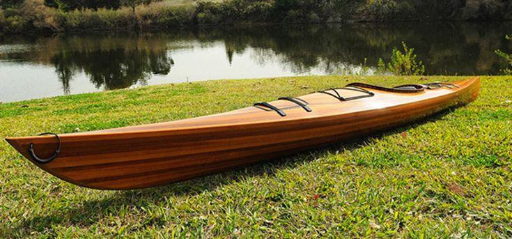 CaptJimsCargo - Cedar Wood Strip Built Kayak 15' Boat Woodenboat USA, (http://www.captjimscargo.com/full-size-cedar-strip-canoes-kayaks/cedar-wood-strip-built-kayak-15-boat-woodenboat-usa/)