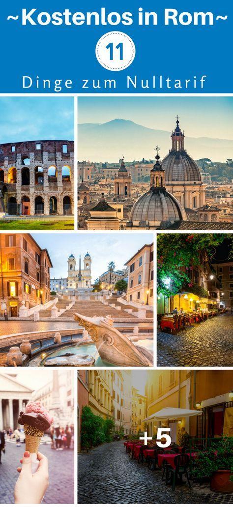 Kostenlos in Rom – 11 Dinge zum Nulltarif