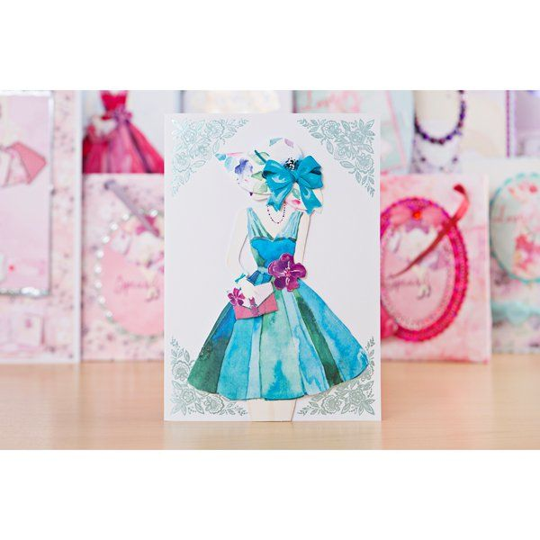 Kanban Joli Femme Papercraft Collection with Acetate and Sentiments Set - 88…
