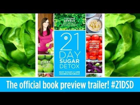 ▶ Are you ready to get rid of those sugar cravings? Do you want to feel great and have energy you haven't had in years? Then The 21 Day Sugar Detox is for you! It even includes special modifications for athletes, pregnant/nursing moms, pescetarians, and people with autoimmune conditions. #21dsd #21dsdbook #sugar #detox