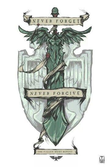 Never Forgive. Dark Angels