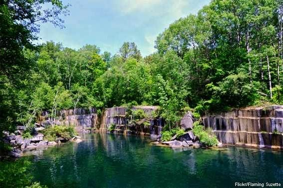 Dorset Marble Quarry - Vermont. Oldest quarry in the US, opened in 1785