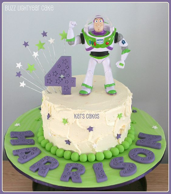 Buzz Lightyear Cake by Kat's Cakes, via Flickr