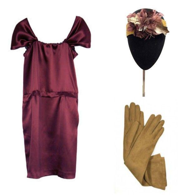 Vestido: Miguel Palacio para Virvin; tocado: Mimoki; guantes: Varadé