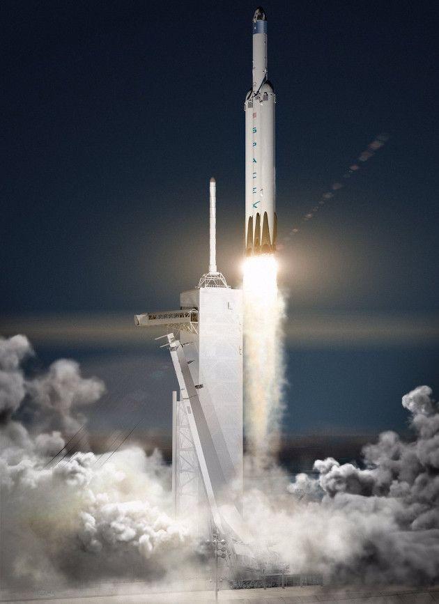 SpaceX chce wylądować na Marsie już w 2018