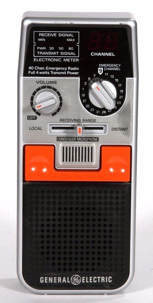 General Electric 2 Way Citizens Band Radio 3-5900 #GE
