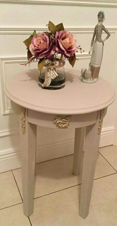 Customer Susan Carroll loves using our range of mouldings and highlighting them on her restyled pieces .  Roman Drops and Leafy Shabby Rose available now on www.shabby.ie