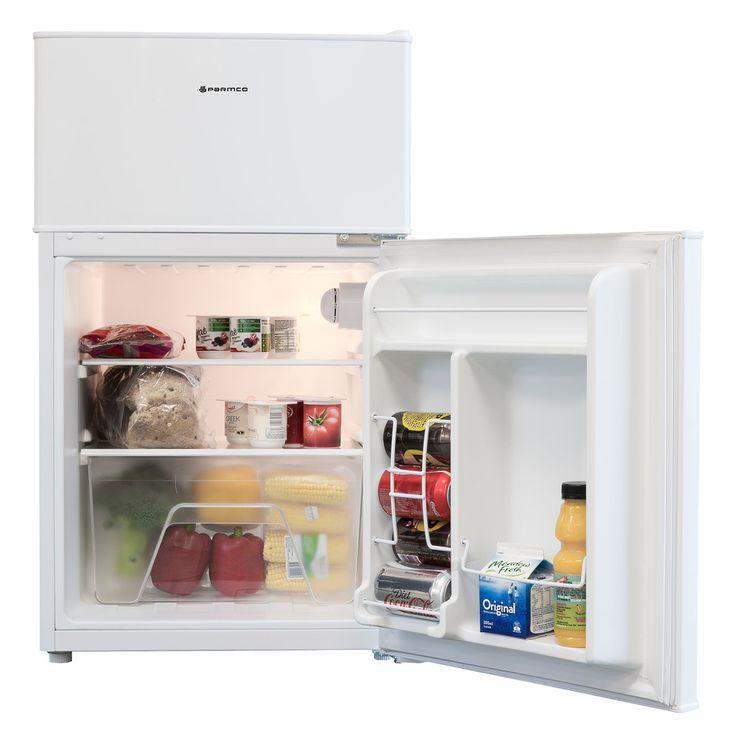 88L Under Bench Fridge Freezer, White - Under-bench - Cool - Kitchen - Parmco Sales