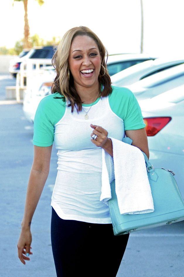 Pregnant Tia Mowry Hardict Out & About!