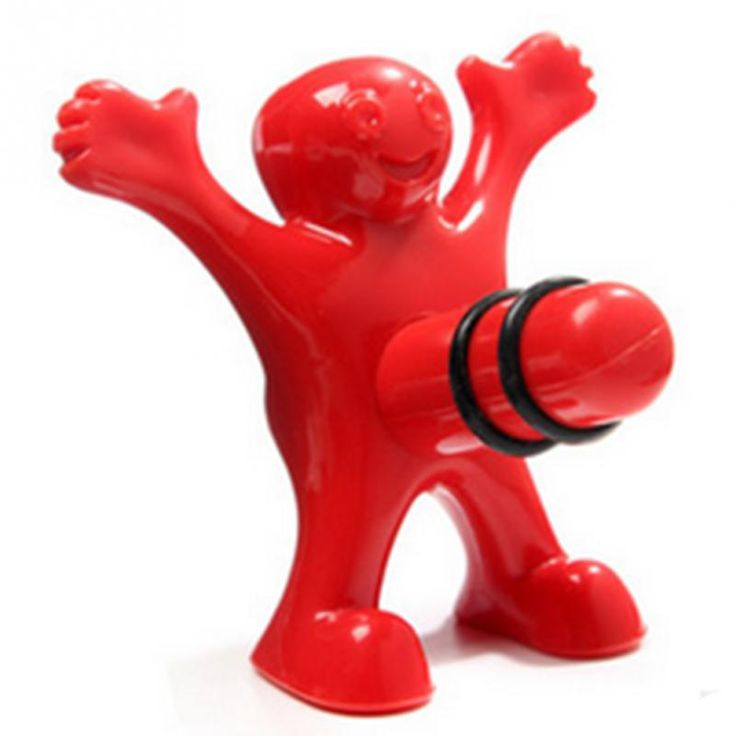1pc Newest Funny Happy Man Guy Wine Stopper Novelty Bar Tools Wine Cork Bottle Plug Perky Interesting Gifts <3 Find similar products by clicking the image