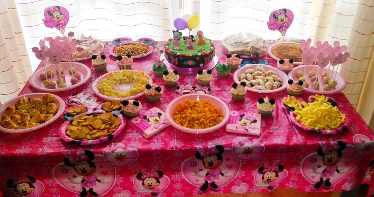 DIY: MINNIE MOUSE BIRTHDAY PARTY