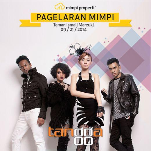 "Live Musik Performance dari #Tangga akan meramaikan ""Pagelaran Mimpi"" di Taman Ismail Marzuki pada 21 September 2014"