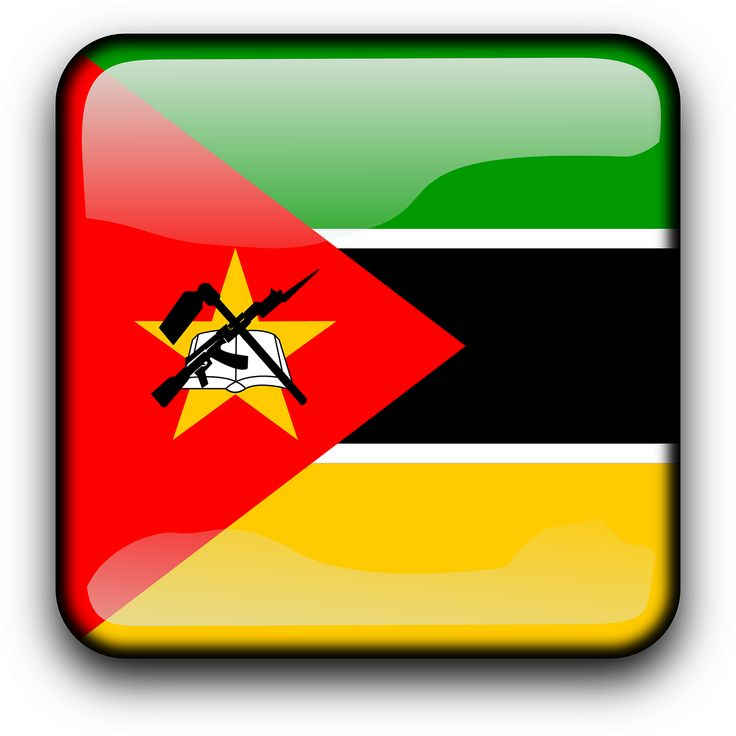 Mozambique Flag Country