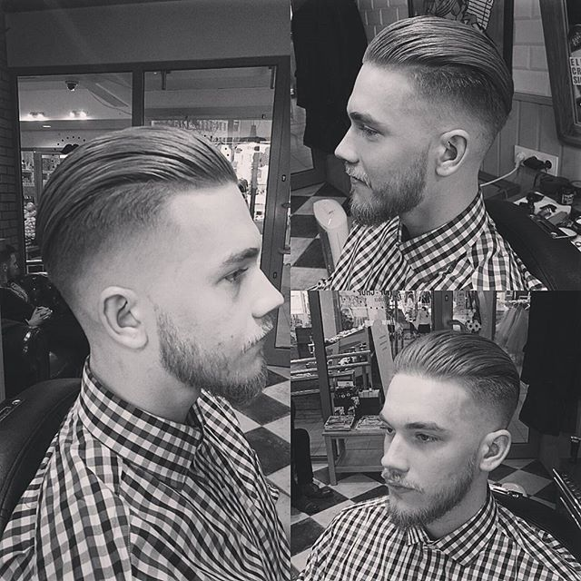 Skinfade Fury slick back done today! #skinfade...