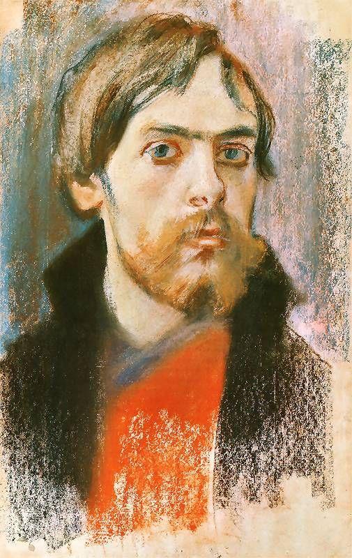 Stanisław Wyspiański, Self - portrait, 1895