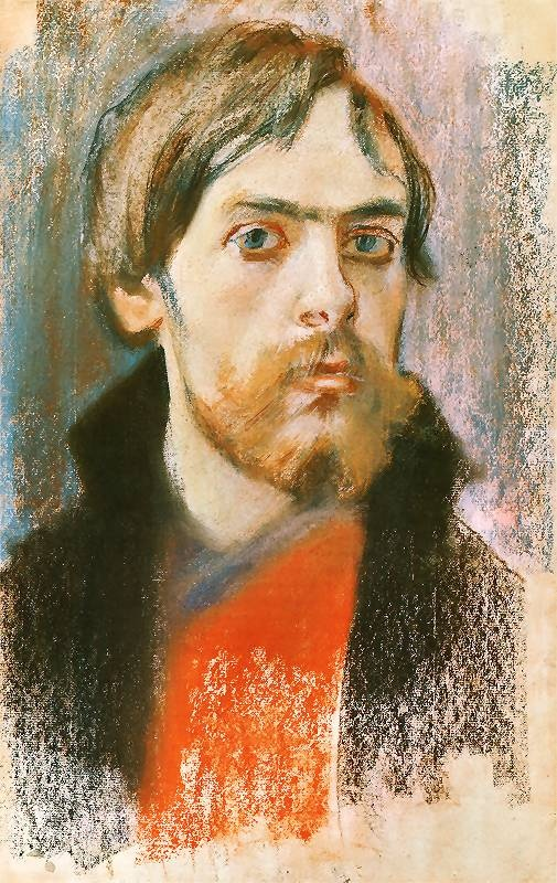 Stanisław Wyspiański - Young Self Portrait