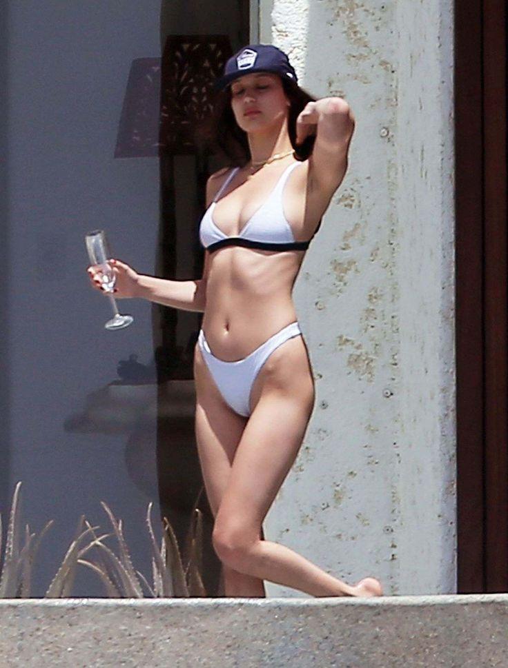 Bella Hadid In Bikini On Vacation In Cabo San Lucas - April 03, 2017