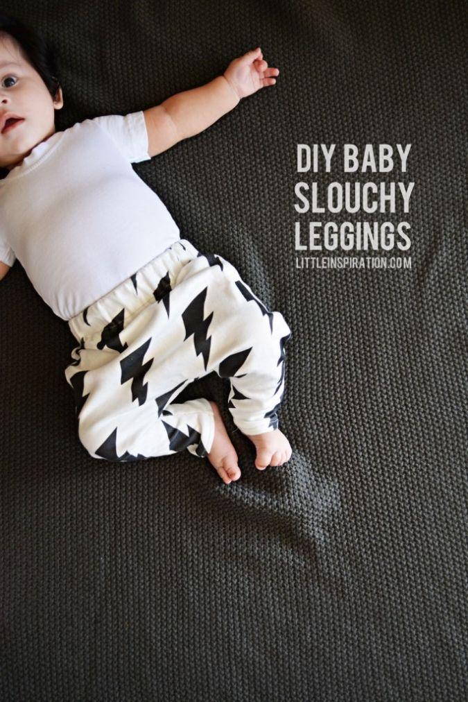 DIY Baby Slouchy Leggings » Little Inspiration