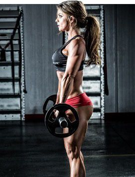Bodybuilding.com - Body Transformation: Jen Jewell's Road To Pro - dig her super sets. Not too different than mine, just more intense and variety