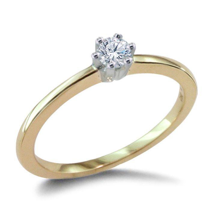 Diamantring weißgold günstig  120 besten Diamantringe von Pearlgem Bilder auf Pinterest