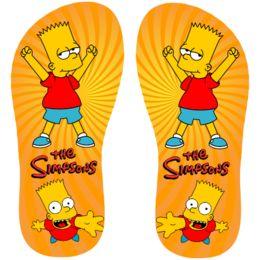 Estampa para chinelo Os Simpsons 000892                                                                                                                                                                                 Mais