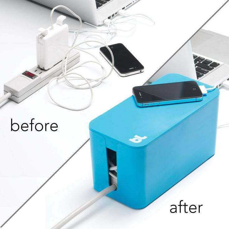 Bluelounge CableBox Mini Cable Managment System