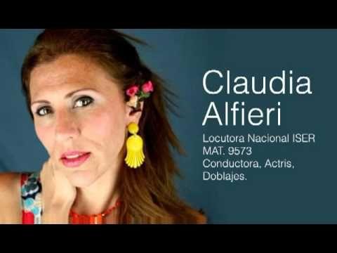 Claudia Alfieri - Demo de Locución