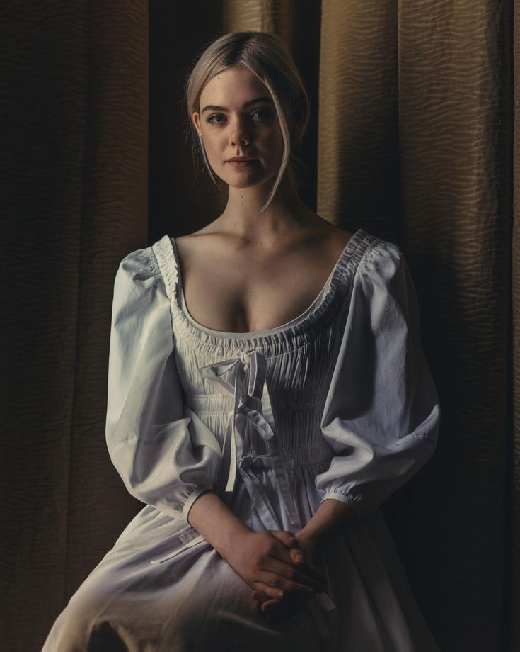 "1860s - Elle Fanning for ""The Beguiled"" (2017, Sophia Copolla)"