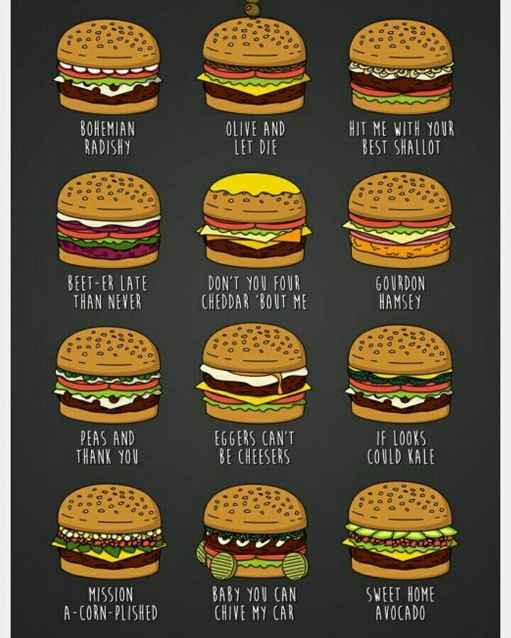 If only these burger names were real