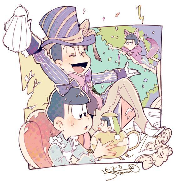 おそ松さん Osomatsu-san アリスパロ松