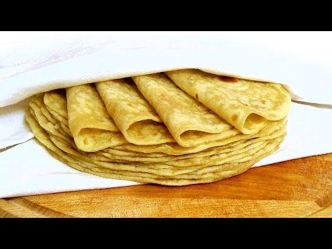 Быстрые лепешки на сковороде - YouTube