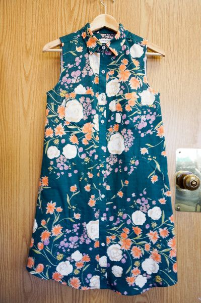 Tasia's Alder Shirtdress: A Change From My Usual Style