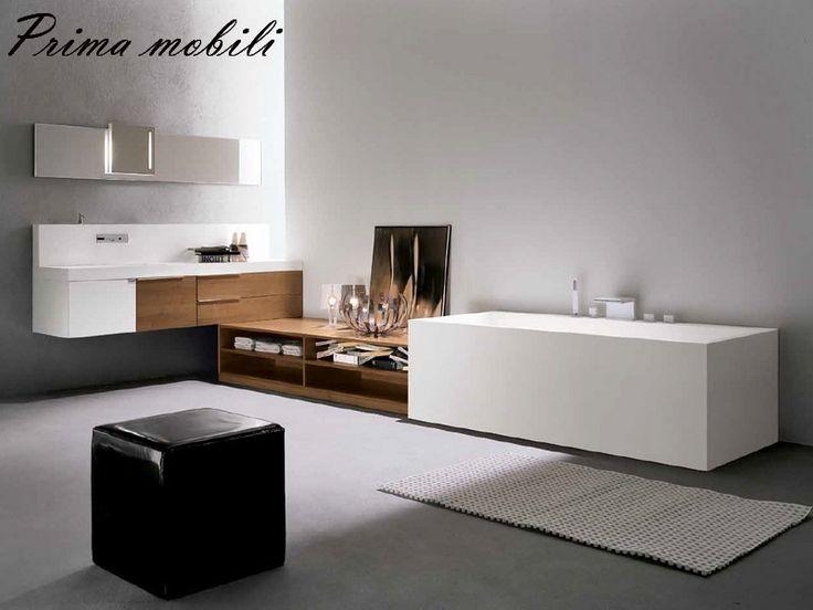 Итальянская мебель для ванной Facto Evolution Comp 1 купить в Москве в Prima mobili