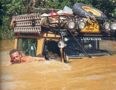 Land Rover Defender 90 Tdi Sw Camel Trophy adventure extreme team. Love this way of life. Lobezno