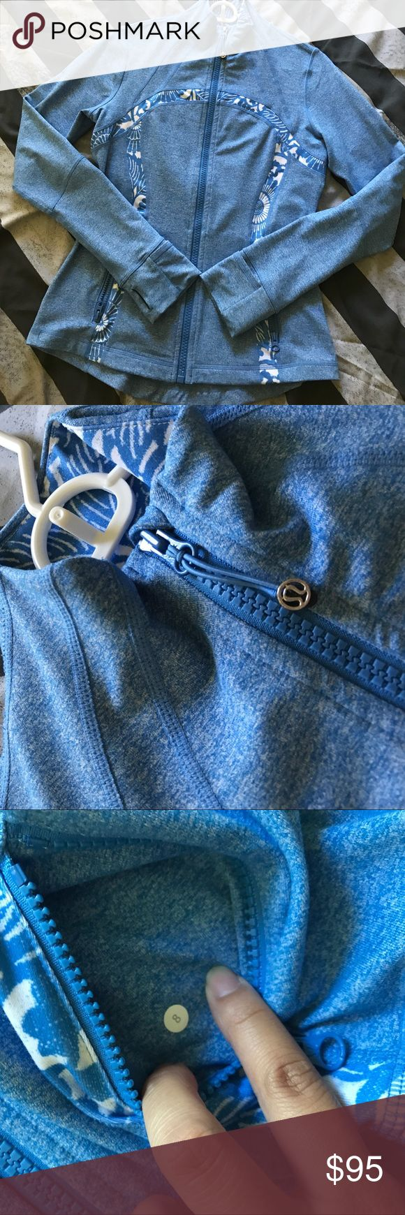 Heathered Blue Beach Porcelain Define Flawless! Want to trade for other Heathered or maroon/deep purple defines same size same condition! lululemon athletica Jackets & Coats