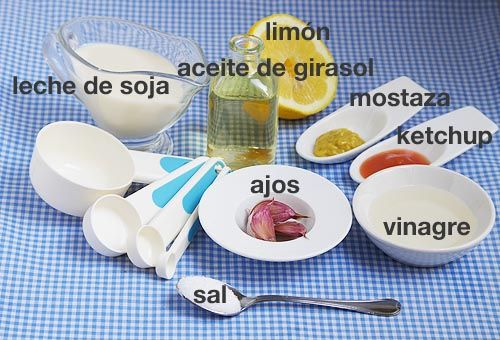Cómo hacer mayonesa vegetal (veganesa). #receta #vegana