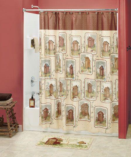 20 best Bathroom Outhouse Theme images on Pinterest Bathroom