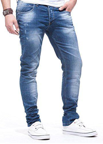 LEIF NELSON Herren Jeans Jeanshose LN271