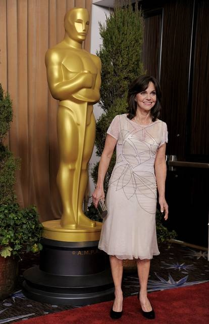 Oscar 2013: Sally Field Best Actress in a Supporting Role ( Lincoln )  3rd nominations, two Oscars