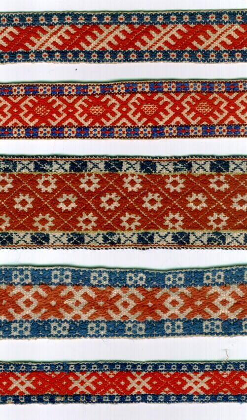 Estonian belts. Inspiration