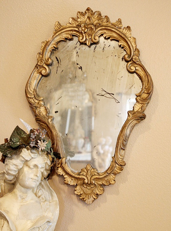 French mirror TT I have one very similar in my master.  Love it.  I prefer a non antiqued glass. TT