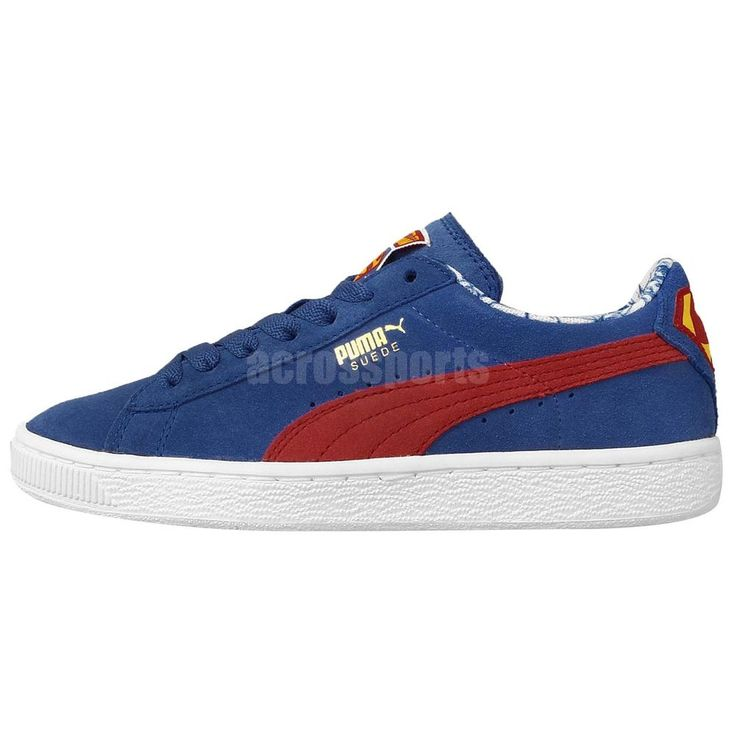 Puma Suede Superman JR Blue Red 2015 Youth Kids Boys Junior Casual Shoes  http://www.ebay.com.au/itm/Puma-Suede-Superman-JR-Blue-Red-2015-Youth-Kids-Boys-Junior-Casual-Shoes-/311265934434?pt=LH_DefaultDomain_15&var=&hash=item8e1eac31f4
