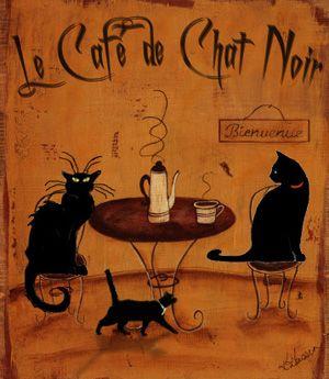 Le Cafe Chat Noir
