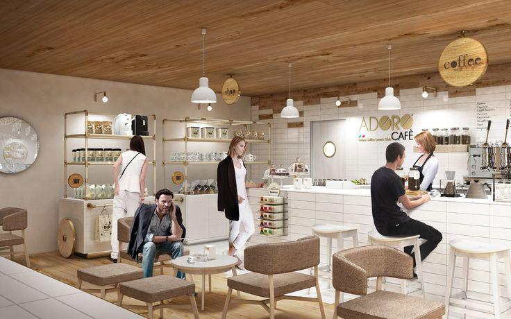 """Adoro Cafè"" international retail format"