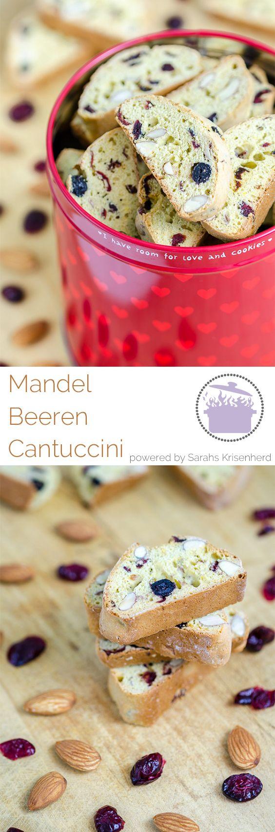 Mandel Beeren Cantuccini - perfekt zu einem italienischen Kaffee oder einfach nur so...