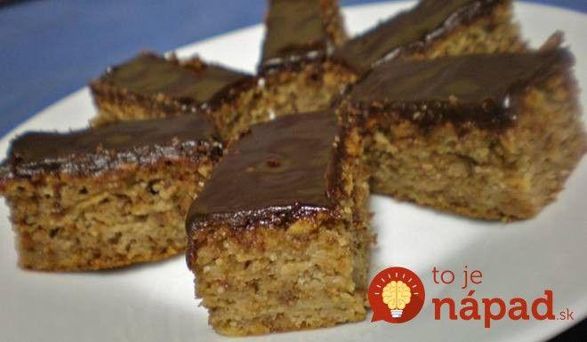 Bleskový dezert bez váhy a odmerky: Kupicový jablčník s orechmi a čokoládou!