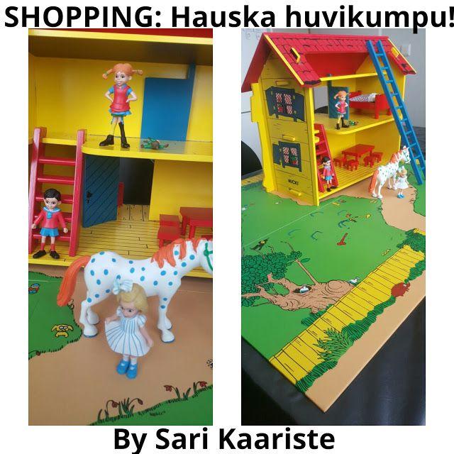 ostokset, lastentarvikkeet, lelut, Peppi Pitkätossu, huvikumpu, nukkekoti, nukketalo, pinjata, leikit, sisäleikit