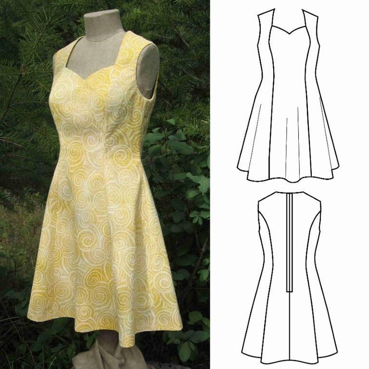 (9) Name: 'Sewing : Dress for Half-Scale Dress Form