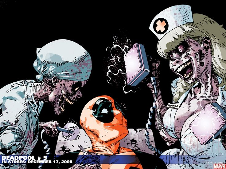 mobile-wallpaper-wallippo-and-deadpool-loves-zombie-nurses