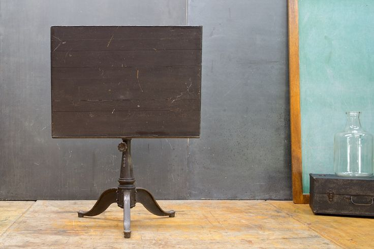 Anco Iron Pedestal Artist Drafting Table #1910s A very early Anco Cast Iron Pedestal Artist Drawing Table.  Surface W: 31½ x D: 23½ H: 24/33 to 32/47 in. #atelier #vintageshop #antiques #eclectic #interiordesign #vintage #retaildesign #washingtondc #cabinmodern #bespoke #modern50 #stilllife #salvage #m50 #photooftheday #vintageindustrial #factory #industrial #mercantile #workshop #rustic #generalstore #saloon #gothic #victorian #artsandcrafts #mission #draftingtable #castiron
